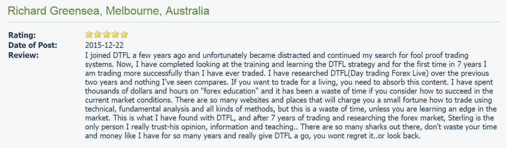 Another DTFL Review on Forex Peace Army